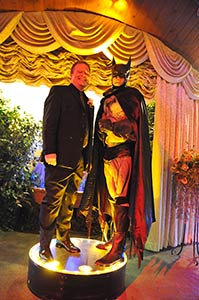 Viva Las Vegas Weddings Chapels - Super Hero Wedding Package