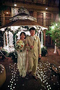 Viva Las Vegas Weddings Chapels - Twilight Gazebo Wedding Package