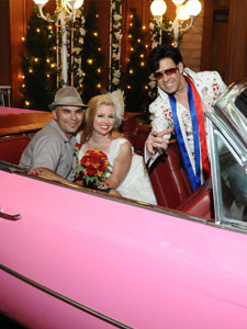 Elvis and The Pink Caddy