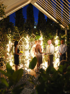 Garden Chapel Outdoor Gazebo Wedding At Viva Las Vegas Weddings