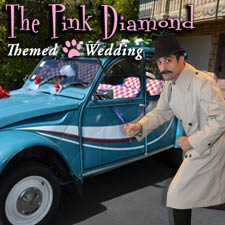 Pink Diamond Themed Wedding Package