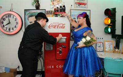 The Doo Wop Diner Reception