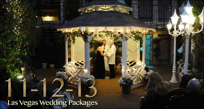 11 12 13 Las Vegas Diamond Wedding Packages