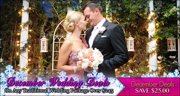December Las Vegas Wedding Deals