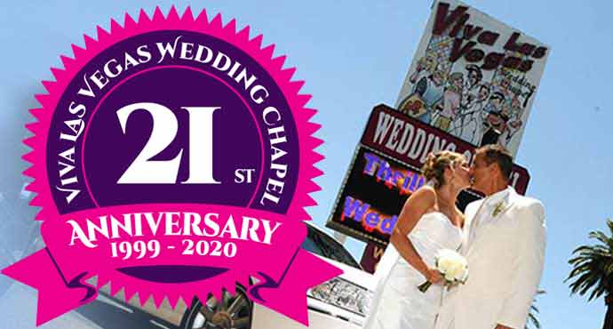 Viva Las Vegas Wedding Chapel's 20th Anniversary