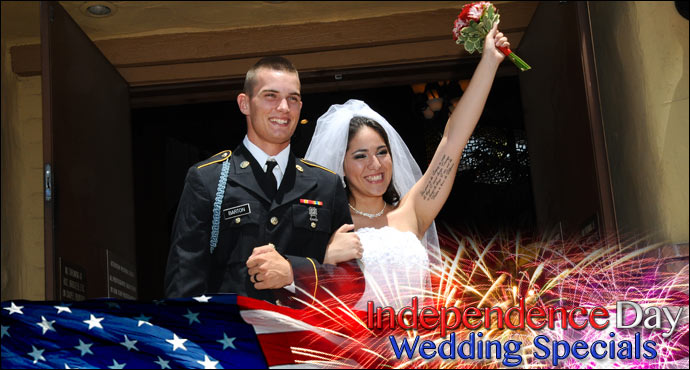 4th of July Wedding Specials from Viva Las Vegas Weddings