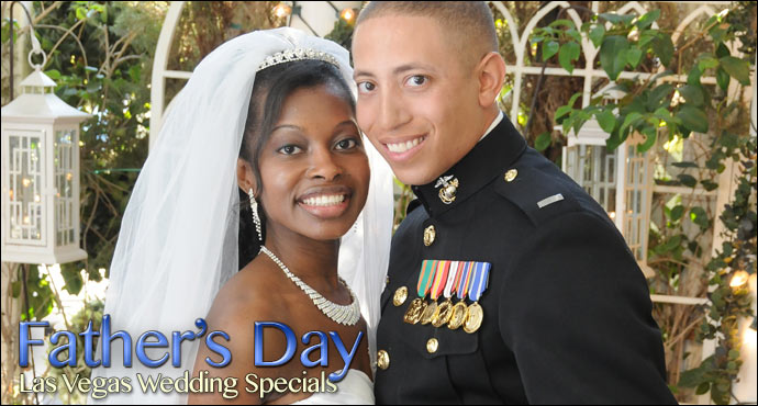 Father's Day Wedding Specials from Viva Las Vegas Weddings