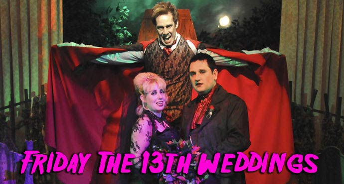 Friday The 13th Wedding Packages in Las Vegas