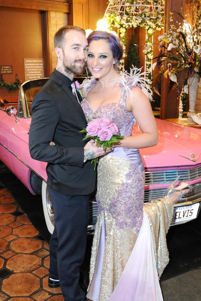 Elvis & The Pink Caddy Rockabilly Weekender Wedding Package