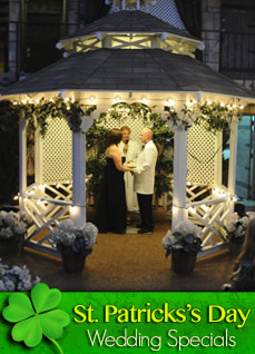 Luck 'O the Irish Main Chapel or Outdoor Gazebo Wedding Package