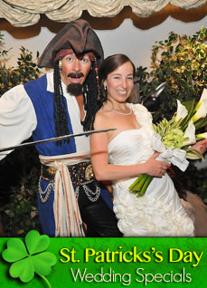 St. Patrick's Day Theme Wedding Specials