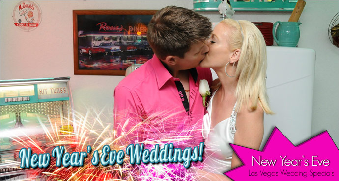 New Year's Eve Wedding Specials from Viva Las Vegas Weddings