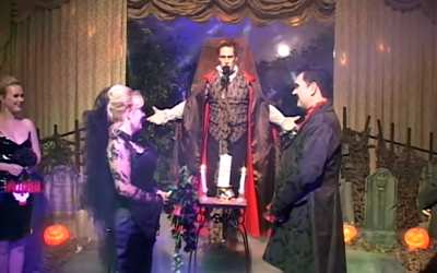 Dracula Halloween Wedding