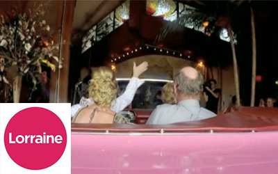 Lorraine Show on ITV Visits Las Vegas Weddings