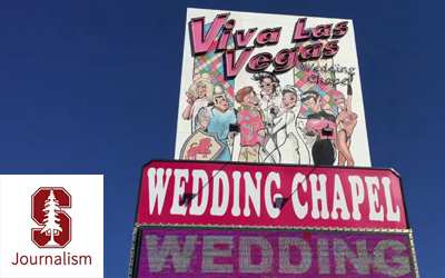 Stanford Journalism at Viva Las Vegas Weddings