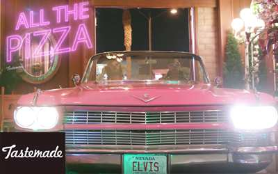 TasteMade - All The Pizza at Viva Las Vegas Weddings