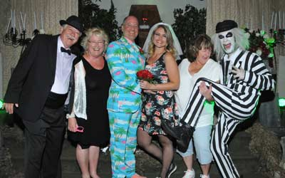 Beetlejuice Themed Wedding from Viva Las Vegas