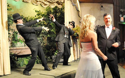 weddings las vegas Bluez Brotherz Themed Wedding Package