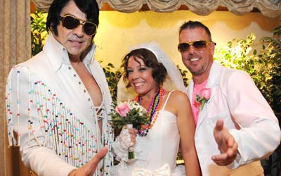 Elvis In Concert Wedding Package