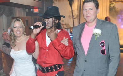 Thriller Themed Weddings at Viva Las Vegas