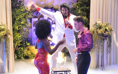 Disco Wedding packages at Viva Las Vegas Wedding Chapel