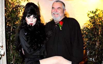 Elvira Themed Wedding Las Vegas Gothic Wedding Package