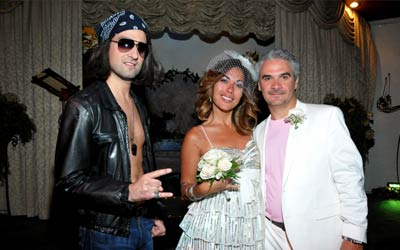Theme weddings at Viva Las Vegas Rock n' Roll Themed Wedding Package