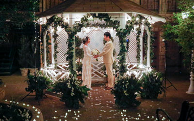 Deluxe Gazebo Wedding Package