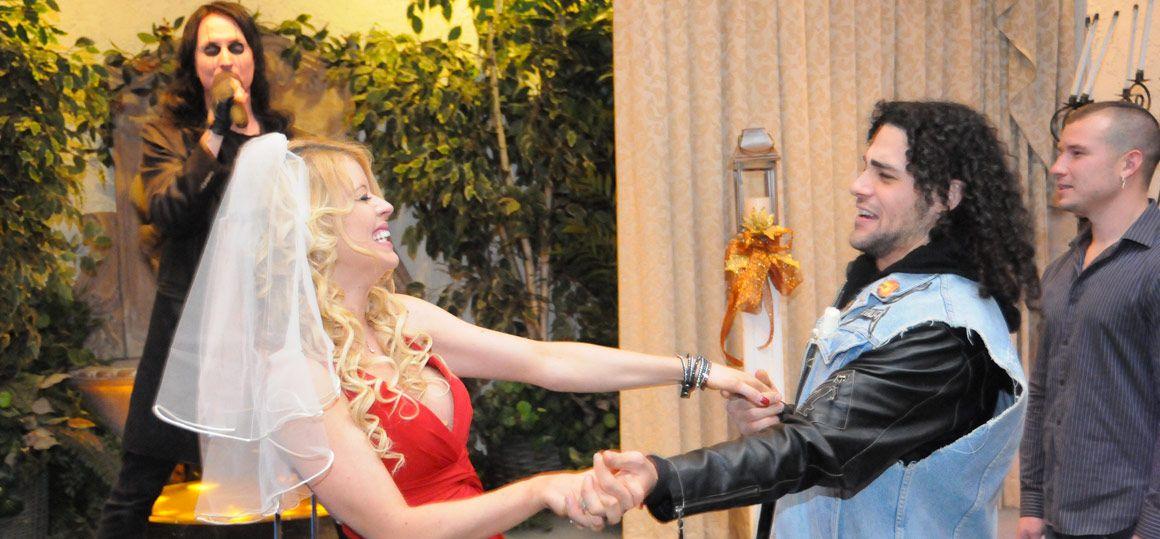 Las Vegas Weddings Alice Cooper Wedding Package