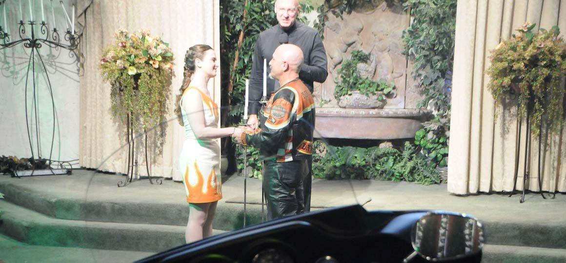 Harley Davidson Wedding