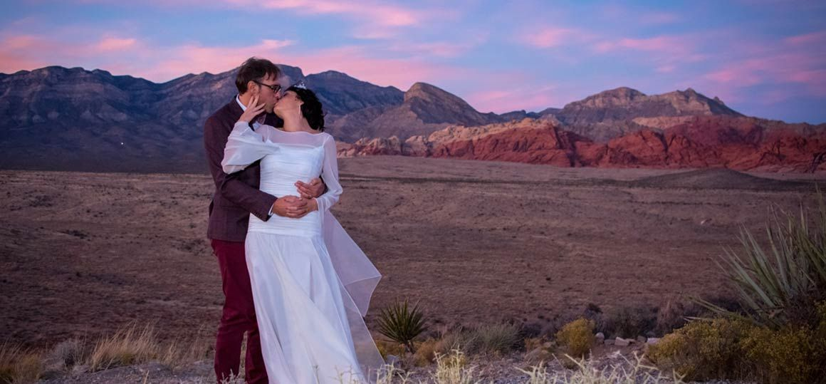Red Rock Canyon Wedding Package 2