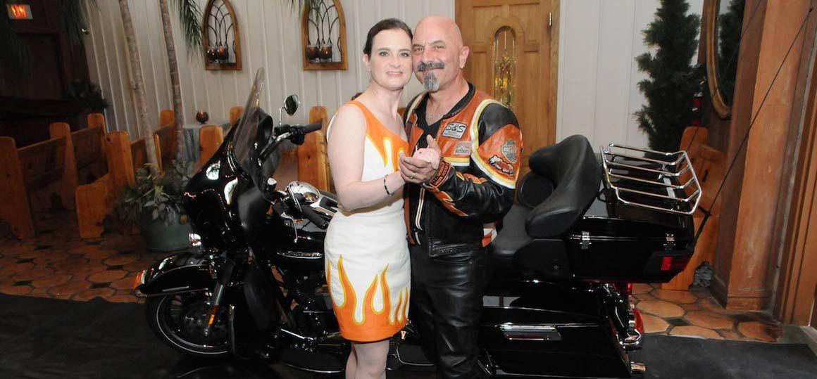 Viva Las Vegas Weddings Harley Davidson Themed Wedding Package