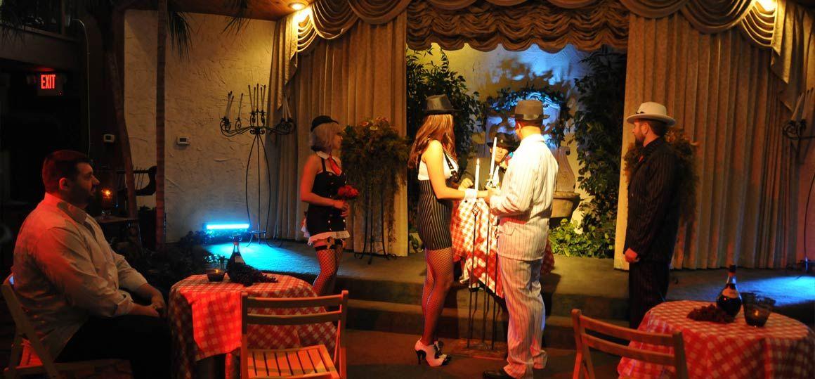 Gangster Theme Wedding Package Viva Las Vegas Themed Weddings Inc